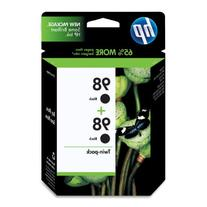 HP 98 Black Original Ink Cartridges, 2 pack