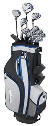 Tour Edge HP25 Men's Senior Complete Golf Club Set, Right