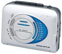 Aiwa HS-TA403 AM/FM Cassette Stereo, Auto Reverse, Super
