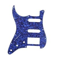 Musiclily HSS 11 Holes Strat Electric Guitar Pickguard for