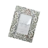 NACH HT-70283MC-46 Carved Wood Photo Frame for 4 by 6-Inch