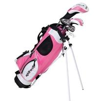Tour Edge Ht Max-J Junior Golf Sets Wd/3 Irns/Putter/Bag