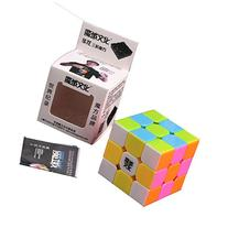 MoYu HuaLong 3x3x3 Speed Cube Puzzle Stickerless With Pink