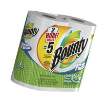 Bounty Huge Roll Select-A-Size, White, 12 Count