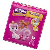HUGGIES Pull-Ups Girls' Learning Designs Training Pants,