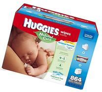 NEW Huggies Natural Care Baby Wipes, 864 Ct. - Triple Clean