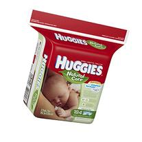 Huggies Natural Care Baby Wipes, Refill Pack , Fragrance-