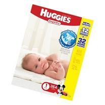 Huggies Snug & Dry Value Box Size 1 - 264 Count