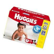 Huggies Snug & Dry Value Box Size 3 - 216 Count