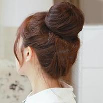 Human Hair Hair Bun
