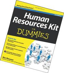 human resources kit for dummies pdf