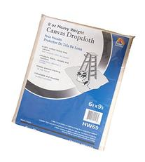 Galaxy Products HW69 Paintessentials Canvas Drop Cloth, 6 x