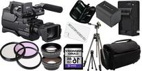 Sony HXR-MC2000U Shoulder Mount AVCHD Camcorder 16GB Package
