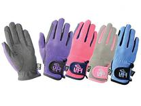 Hy5 Children's Everyday Two Tone Horse Riding Gloves - Very