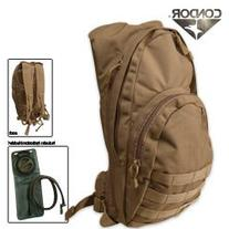 "Condor 17"" Hydration Pack Day Pack Color: Tan"