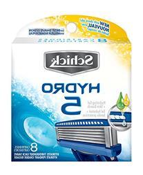 Schick Hydro 5 Razor Blade Refills for Men with Flip Trimmer