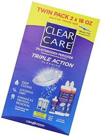 Clear Care 3% Hydrogen peroxide Triple Action Cleaning