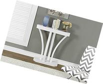I 2449 White Hall Console Accent Table, 32
