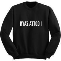I Gotta Zayn Sweater One Direction Sweatshirt Band Shirt