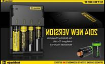 NITECORE i4 Intellicharge universal smart battery Charger