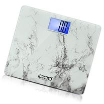 iDOO Precision Digital Bathroom Scale 440lb 200kg 19 inch
