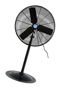 iLIVING ILG8P30-72 Commercial Pedestal Floor Fan, 30