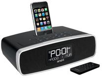 iHome iA90BZ App-Enhanced Dual Alarm Stereo Clock Radio for