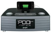 iHome IBT97GC Bluetooth Stereo FM Clock Radio with USB