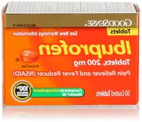 GoodSense Ibuprofen Pain Reliever/Fever Reducer, 200 mg
