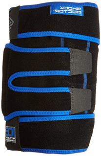 Shock Doctor Ice Recovery Compression Knee Wrap, Black,