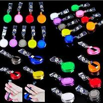 Lot 50 ID Badge Holder Reel Retractable Key Clip Wholesale Price 9 Colors