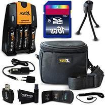 Ideal Accessory Kit for Nikon Coolpix L840, L830, L820, L810