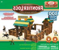 Ideal Frontier Logs Classic All Wood 300-Piece Construction
