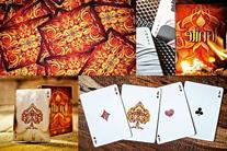 IGNITE Fire Themed Playing Cards Deck by Ellusionist