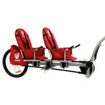 Weehoo iGo Two Bike Trailer Red, One Size