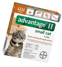 Advantage II Small Cat 4-Pack