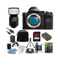 Sony Alpha a7S ILCE7S/B ILCE7S ILCE7SB Camera and HVLF60M
