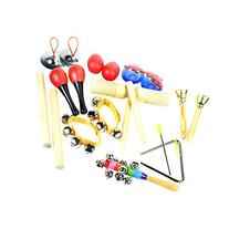 ilovebaby 10 PCS Musical Instruments Set with Maracas,