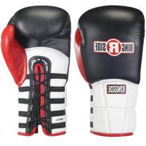 Ringside Pro Style IMF Tech Training Gloves, Lace Up