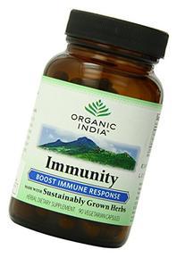 Organic India Immunity Boost, 90-Count
