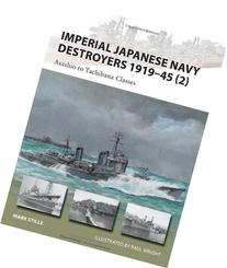 Imperial Japanese Navy Destroyers 1919-45 : Asashio to