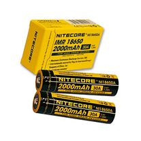Nitecore IMR 18650 2000mAh 30A rechargeable battery - A pair