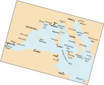 Imray Chart M10: Western Mediterranean - Gibraltar to the