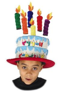 Elope Inc. Kid's Cake with Velcro Candles