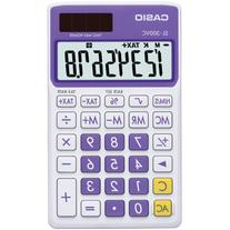 Casio SL-300VC Standard Function Calculator, Purple