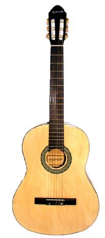 "39"" Inch Full Size Natural Beginner Classical Nylon String"