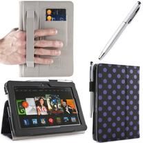 i-BLASON Kindle Fire HDX 8.9 inch Tablet Leather Case Cover