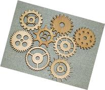 "Lot 1 Includes 8 3"" Custom Wood Wooden Gears Gear COG"