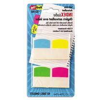 Index Flags, Removable, Write-on, 1-1/16x1.25, Assorted