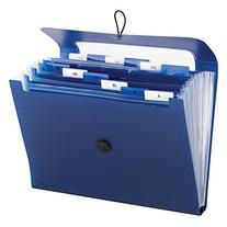 Smead Step Index Poly Organizer, 12 Pockets , Flap and Cord